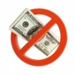 no money allowed