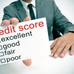 different ranges of the credit score